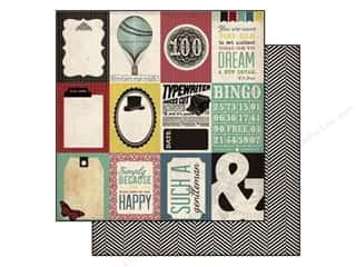 Moss $2 - $3: Echo Park 12 x 12 in. Paper Times & Seasons 2 Journaling Cards (25 pieces)