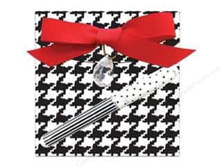 Lily McGee Note Pads / Notebooks: Lily McGee Note Pad Matchbook with Pen Houndstooth