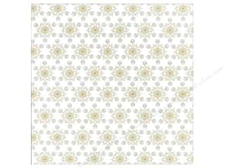 Winter Wonderland Paper: Anna Griffin 12 x 12 in. Cardstock Winter Wonderland Snowflakes (25 piece)