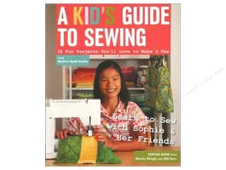 Kids Crafts Summer Fun: FunStitch Studio By C&T A Kid's Guide To Sewing Book