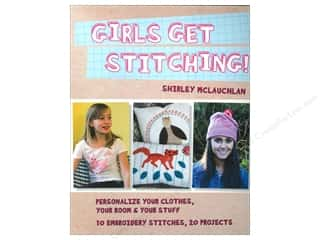 Girls Get Stitching Book
