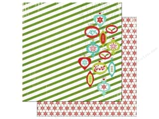Imaginisce Christmas: Imaginisce Paper 12x12 Colors Of Christmas Vintage Ornaments (25 pieces)