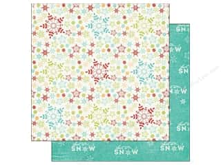 Imaginisce Paper 12x12 Colors Of Christmas Let It Snow (25 piece)