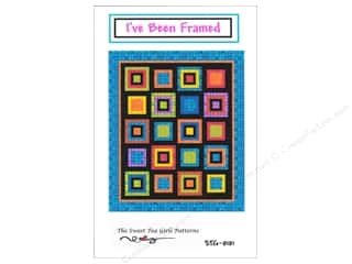 Sew Tea Girls Borders: Sweet Tea Girls I've Been Framed Pattern