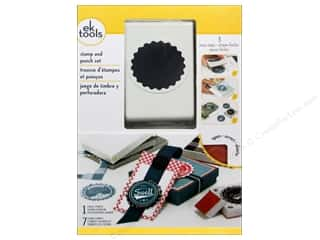 EK Paper Punch & Stamp Set Retro Bottle Cap