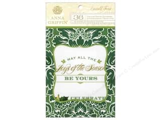 Anna Griffin Stickers Emerald Forest Vellum Quotes