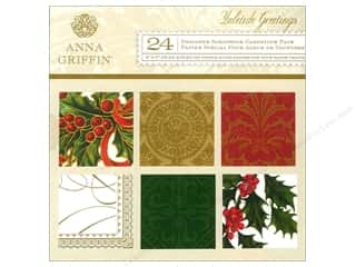 Anna Griffin 6 x 6 in. Cardstock Pad Yuletide Greetings