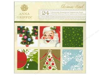 Anna Griffin 6 x 6 in. Cardstock Pad Christmas Kitsch