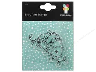 Imaginisce Snag Em Stamp Colors Of Christmas Hedgehog