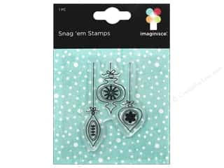 Imaginisce Snag Em Stamp Colors Of Christmas Small Ornament