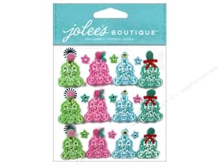 Outdoors Felting: Jolee's Boutique Stickers Tree Mini Repeats