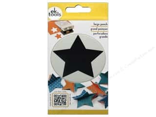 EK Success paper dimensions: EK Paper Shapers Punch Large Star