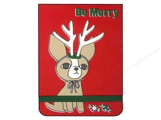 Pads Christmas: Punch Studio Note Pad Pocket Flip Be Merry (2 pieces)