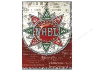 Punch Studio Note Pad Noel Window Pocket (2 piece)