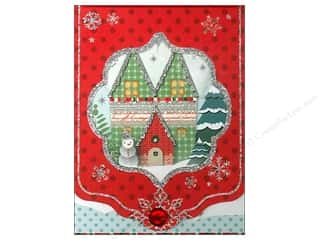 Punch Studio Note Pad Winterland Window Pocket (2 piece)