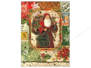 Punch Studio Note Pad Christmas Victorian Window Pocket (2 piece)