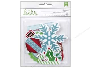 American Crafts Die Cut Shapes Peppermint Express Figgymint