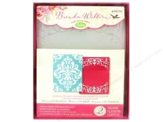 Experiment, The: Sizzix Textured Impressions Embossing Folders 2PK Elegant by Brenda Walton