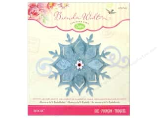 Ornaments Winter: Sizzix Bigz Die Snowflake Ornament by Brenda Walton