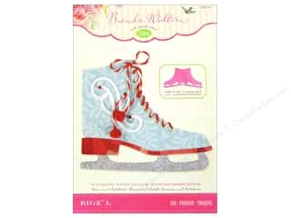 winter clearance craft: Sizzix Bigz L Die Ice Skate by Brenda Walton