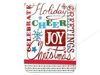 Punch Studio Note Pad Pocket Flip Holiday Type