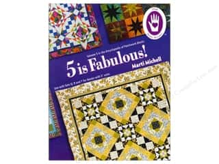 "Books & Patterns 16"": Marti Michell 5 Is Fabulous Encyclopedia Of Patchwork Blocks #5 Book"