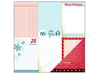 American Crafts 12 x 12 in. Paper Dear Santa (25 piece)