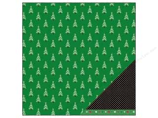 American Crafts 12 x 12 in. Paper Frosted Forest (25 piece)