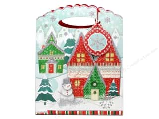 Punch Studio Gift Bag Winterland Medium (2 piece)