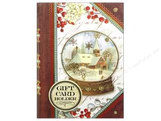 Punch Studio Gifts: Punch Studio Gift Card Holder Church Snowglobe Book (2 pieces)