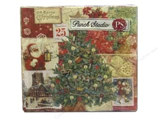 Punch Studio Napkins Christmas Victorian Beverage 20 pc.