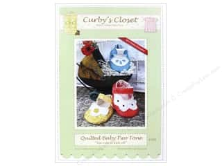 Curby's Closet Quilting Patterns: Curby's Closet Quilted Baby Two Tone Pattern