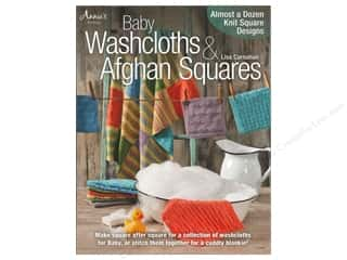 Crochet & Knit: Baby Washcloths & Afghan Squares Book