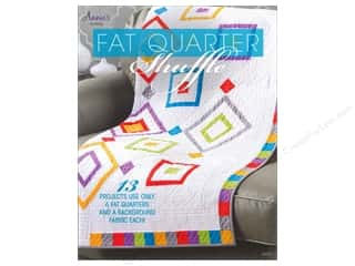 Laundry Basket Quilts Fat Quarter / Jelly Roll / Charm / Cake Patterns: Annie's Fat Quarter Shuffle Book