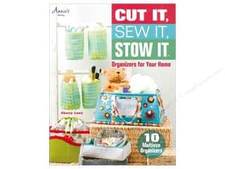 Annies Attic Home Decor: Annie's Cut It, Sew It, Stow It Book by Ebony Love