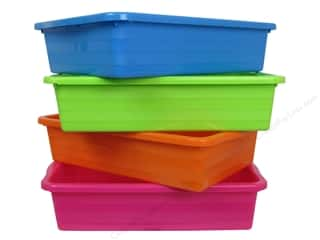 "Baskets $5 - $10: Multicraft Organizer Basket Activity 10.5""x 7.25""x 2 3/8"" Assorted (24 pieces)"