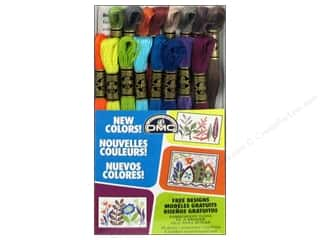 New: DMC Embroidery Floss Pack 16 pc. New Colors