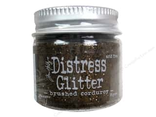 Glitter Brown: Ranger Dry Glitter Tim Holtz Distress 18gm Brushed Corduroy
