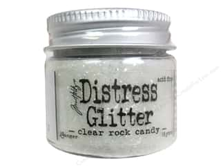 Basic Components Scrapbooking & Paper Crafts: Ranger Dry Glitter Tim Holtz Distress 18gm Rock Candy