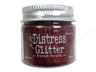 Tim Holtz Basic Components: Ranger Dry Glitter Tim Holtz Distress 18gm Fired Brick