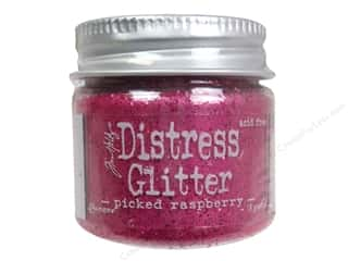 Tim Holtz Basic Components: Ranger Dry Glitter Tim Holtz Distress 18gm Picked Raspberry