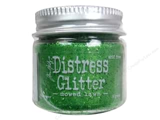 Tim Holtz Basic Components: Ranger Dry Glitter Tim Holtz Distress 18gm Mowed Lawn