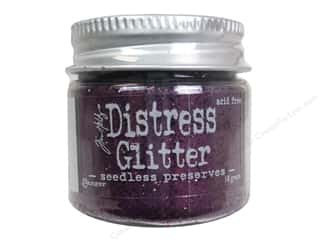 Tim Holtz Basic Components: Ranger Dry Glitter Tim Holtz Distress 18gm Seedless Preserves