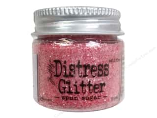 Tim Holtz Basic Components: Ranger Dry Glitter Tim Holtz Distress 18gm Spun Sugar