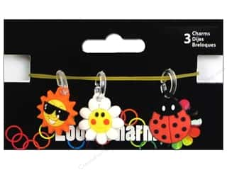 Midwest Design Loom Band Charm Spring Astd 3pc
