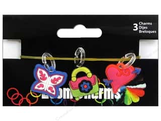 Clearance Blumenthal Favorite Findings: Midwest Design Loom Band Charm Diva Astd 3pc