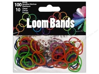 Midwest Design Loom Band Primary Assorted 110 pc.