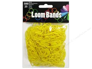 Midwest Design Loom Band Yellow 525 pc.
