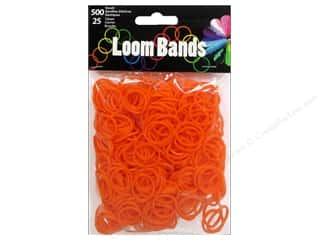 Midwest Design Loom Band Orange 525 pc.