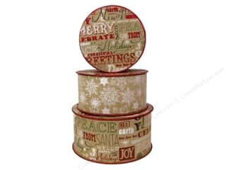 Punch Studio Nesting Boxes Christmas Kraft Spool